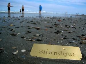 Ein echtes Strandgut ...