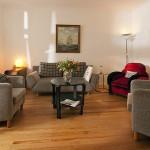 Wohnzimmer (Haus Strandgut | Schulzenstr. 39 | 26548 Norderney)