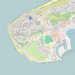Haus Strandgut | Lageplan
